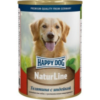 Консервы Happy Dog Телятина с индейкой 400гр