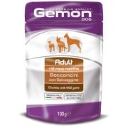 Gemon Dog Pouch паучи для собак кусочки дичи 100г