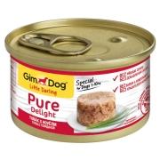 Консервы GimDog Pure Delight для собак из тунца с говядиной 85 г...