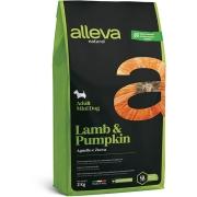 Сухой корм ALLEVA NATURAL ADULT LAMB AND PUMPKIN MINI для собак мелких пород с я...