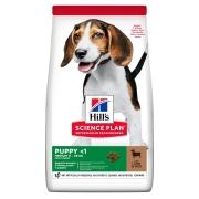 Hill's Science Plan Healthy Development сухой корм для щенков средних пород ягне...