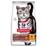Hill's Science Plan Hairball Indoor сухой корм для кошек для выведения шерсти с ...