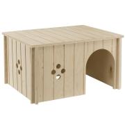 Домик Ferplast SIN деревянный для мелких животных...