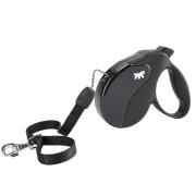 Рулетка Ferplast Amigo cо шнуром для собак, черная