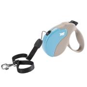 Рулетка Ferplast Amigo MINI 3м/12кг cо шнуром для собак, бежево-голубая ...