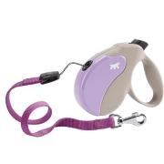 Рулетка Ferplast Amigo cо шнуром для собак, бежево-фиолетовая...