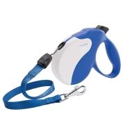 Рулетка Ferplast Amigo cо шнуром для собак, сине-белая...