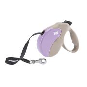 Рулетка Ferplast Amigo MINI 3м/12кг с лентой для собак, бежево-фиолетовая...