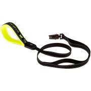 Поводок Ferplast Sport Dog Matic на подкладке, с автоматическим карабином, желты...