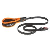 Поводок Ferplast Ergofluo Matic с автоматическим карабином для собак, оранжевый ...