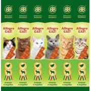 Лакомство B&B Allegro колбаски для кошек с ягненком и индейкой...