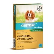 """Ошейник """"Bayer"""" Килтикс от блох и клещей (6 мес), для мелких собак, 38..."""