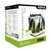 Аквариум Aqua El Fish&Shrimp Set Duo 49л черный