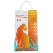 Впитывающий наполнитель HOMECAT 3 кг (5л)