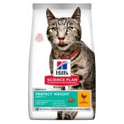 Hill's Science Plan Perfect Weight сухой корм для кошек, склонных к набору веса ...