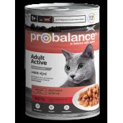 Консервы ProBalance Active для активных кошек, 415гр
