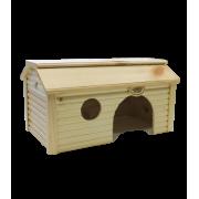 Дом Иванко для мелких грызунов баня дерево