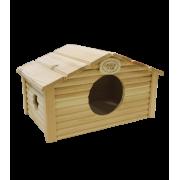 Дом Иванко для морских свинок 35*20*20см дерево
