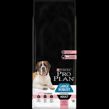 Сухой корм Pro Plan для взрослых собак крупных пород с мощным телосложением , лосось+рис. Чувствительная кожа