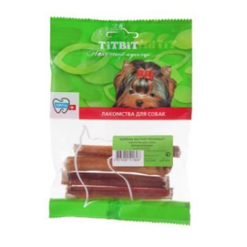 Лакомство TiTBiT для собак корень бычий резаный (мягкая упаковка)