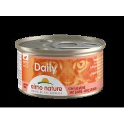 "Консервы Almo Nature Daily mousse with Salmon ""Меню с Лососем"" нежный ..."