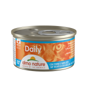 "Консервы Almo Nature Daily mousse with Tuna and Cod ""Меню с Тунцом и Треско..."
