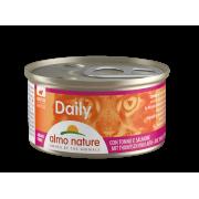 "Консервы Almo Nature Daily mousse with Tuna and Salmon ""Меню с Тунцом и Лос..."