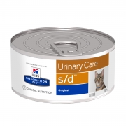 Консервы для кошек Hill's Prescription Diet s/d Urinary Care для лечения МКБ, 15...