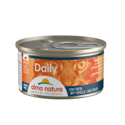 "Консервы Almo Nature Daily chunks with Trout ""Меню с Форелью "" для кош..."
