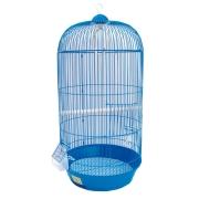 Клетка №1 для птиц круглая, высокая, укомплектованная 33*67...
