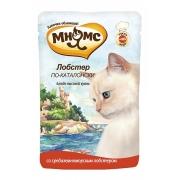 Влажный корм Мнямс паучи для кошек Лобстер по-каталонски 85 г...