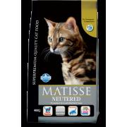 Сухой корм Farmina Matisse для стерилизованных кошек и кастрированных котов с ку...