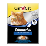 Витамины GIMCAT Сердечки с лососем и таурином для кошек (поштучно)...