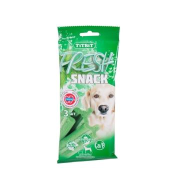 """Лакомство TiTBiT снеки """"Fresh"""" с мятой и хлорофиллом для собак мелких пород"""