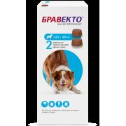 Препарат Intervet Бравекто от блох и клещей для собак 20-40кг 2 таб....