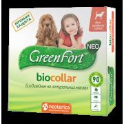 БиоОшейник GreenFort NEO для средних собак, 65 см