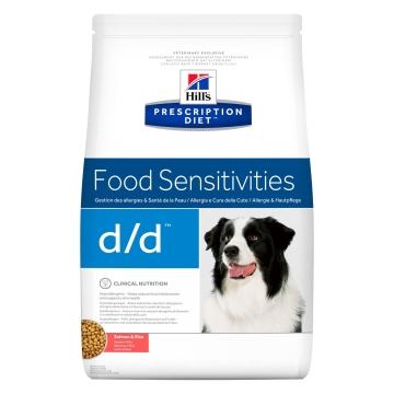 Сухой корм для собак Hill's Prescription Diet d/d Food Sensitivities при аллергии, заболеваниях кожи и неблагоприятной реакции на пищу, с лососем и рисом