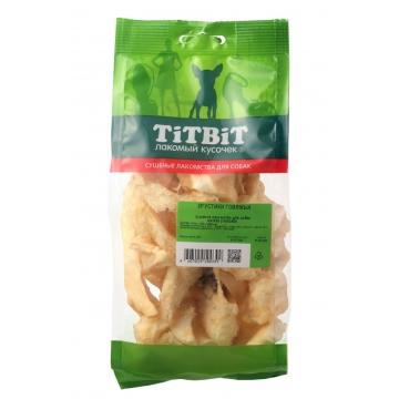 Лакомство TiTBiT для собак хрустики говяжьи (мягкая упаковка)