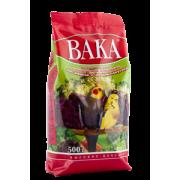 Корм Вака высококачественная для мелких и средних попугаев минералы и овощи (500...