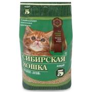 """Древесный наполнитель Сибирская кошка """"Лесной"""" для котят 5л...."""