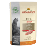 Влажный корм Almo Nature HFC Complete Kitten Chicken с курицей для котят, 55гр...