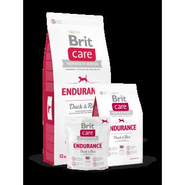 Сухой корм Brit Care Dog Endurance для активных собак, утка с рисом