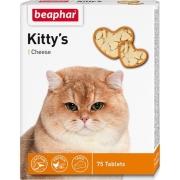 "Витамины Beaphar ""Kitty's"" для кошек с сыром (75шт)..."
