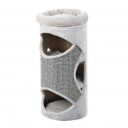 Домик-когтеточка Trixie Gracia светло-серый 85см