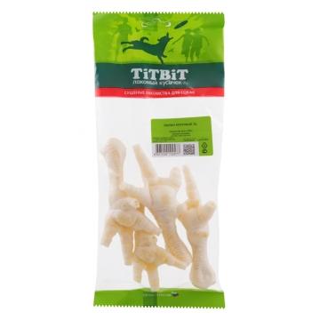 Лакомство TiTBiT для собак лапки куриные XL (мягкая упаковка)