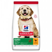 Hill's Science Plan Healthy Development сухой корм для щенков крупных пород с ку...
