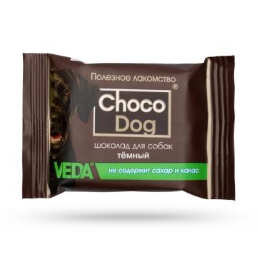 """Лакомство Веда """"Choco Dog"""" темный шоколад для собак (15г)"""