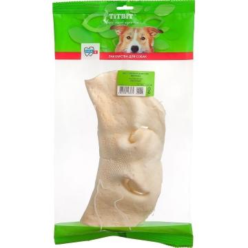 Лакомство TiTBiT нос говяжий бабочка Великан мягкая упаковка для собак