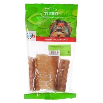 Лакомство TiTBiT для собак трахея говяжья резаная (мягкая упаковка)