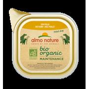 Консервы Almo Nature Biorganic with Chicken паштет с курицей для собак...